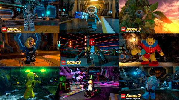 Nuevos personajes para Lego Batman 3: Beyond Gotham / Gotta catch 'em all!
