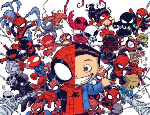 Spider-Verse Skottie Young