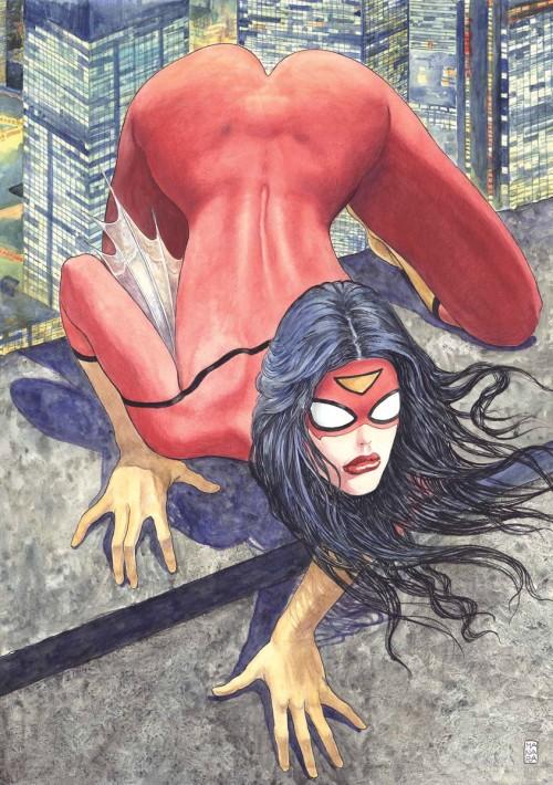 Spider-Woman_Vol_5_1_Manara_Variant_Textless