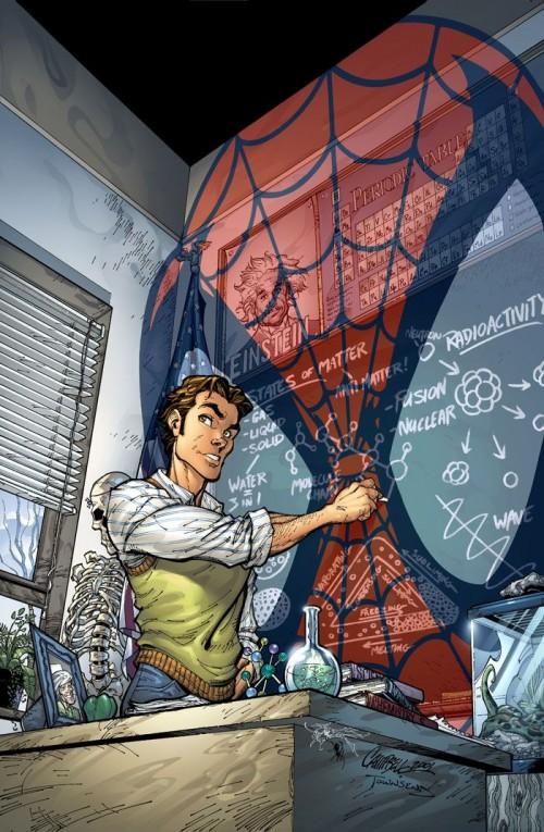 Portada de Amazing Spider-Man #31 de J. Scott Campbell