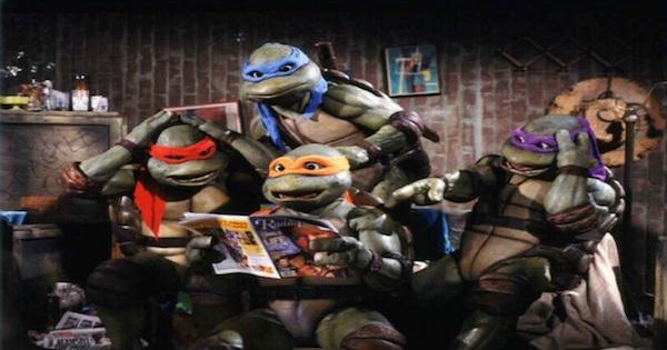 ZN Cine: las tortugas ninja cinematográficas de los 90