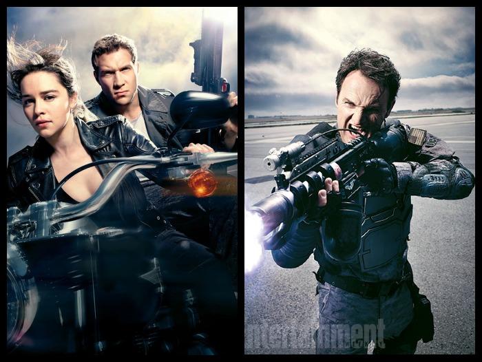 Los protagonistas de Terminator Genisys