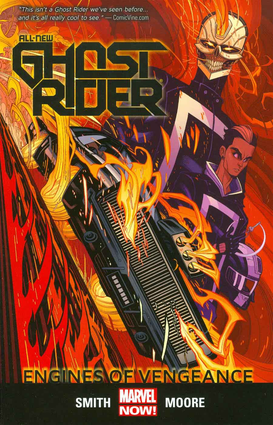 All New Ghost Rider Vol. 1: Engines of Vengeance TPB | Zona Negativa