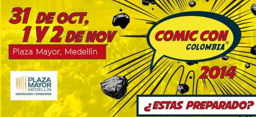 comic con colombia 2014