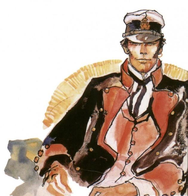 Corto Maltés por Hugo Pratt.