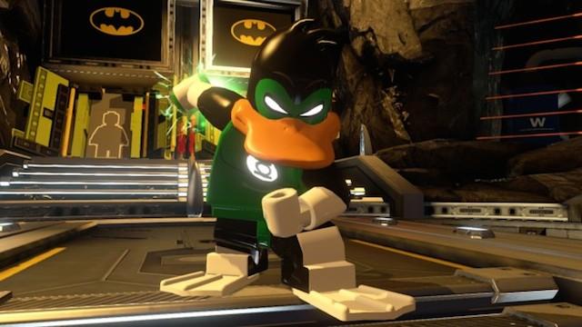 El Pato Lucas como Green Lantern. Que alguien llame a G'nort, please.