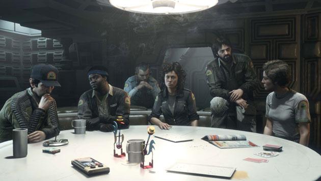 La tripulación de la Nostromo te saluda / ALIEN: ISOLATION / SEGA
