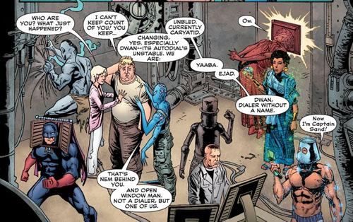 Escenas como esta son lo normal en este cómic.