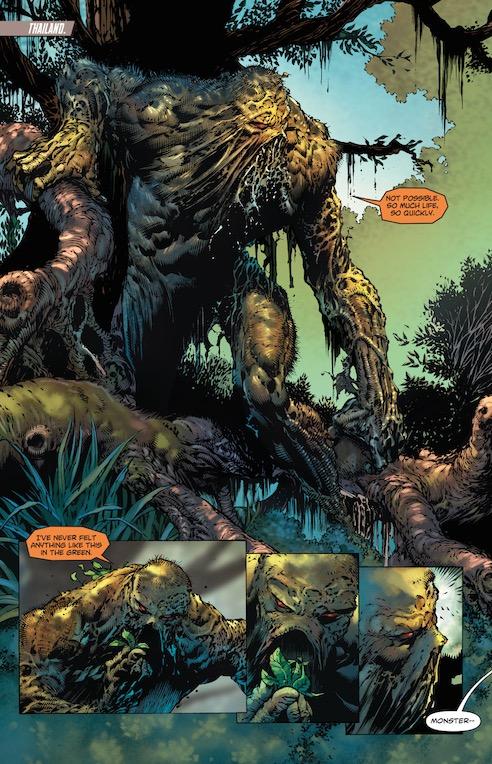 Swamp Thing, ¿Cameo o protagonista del arco?