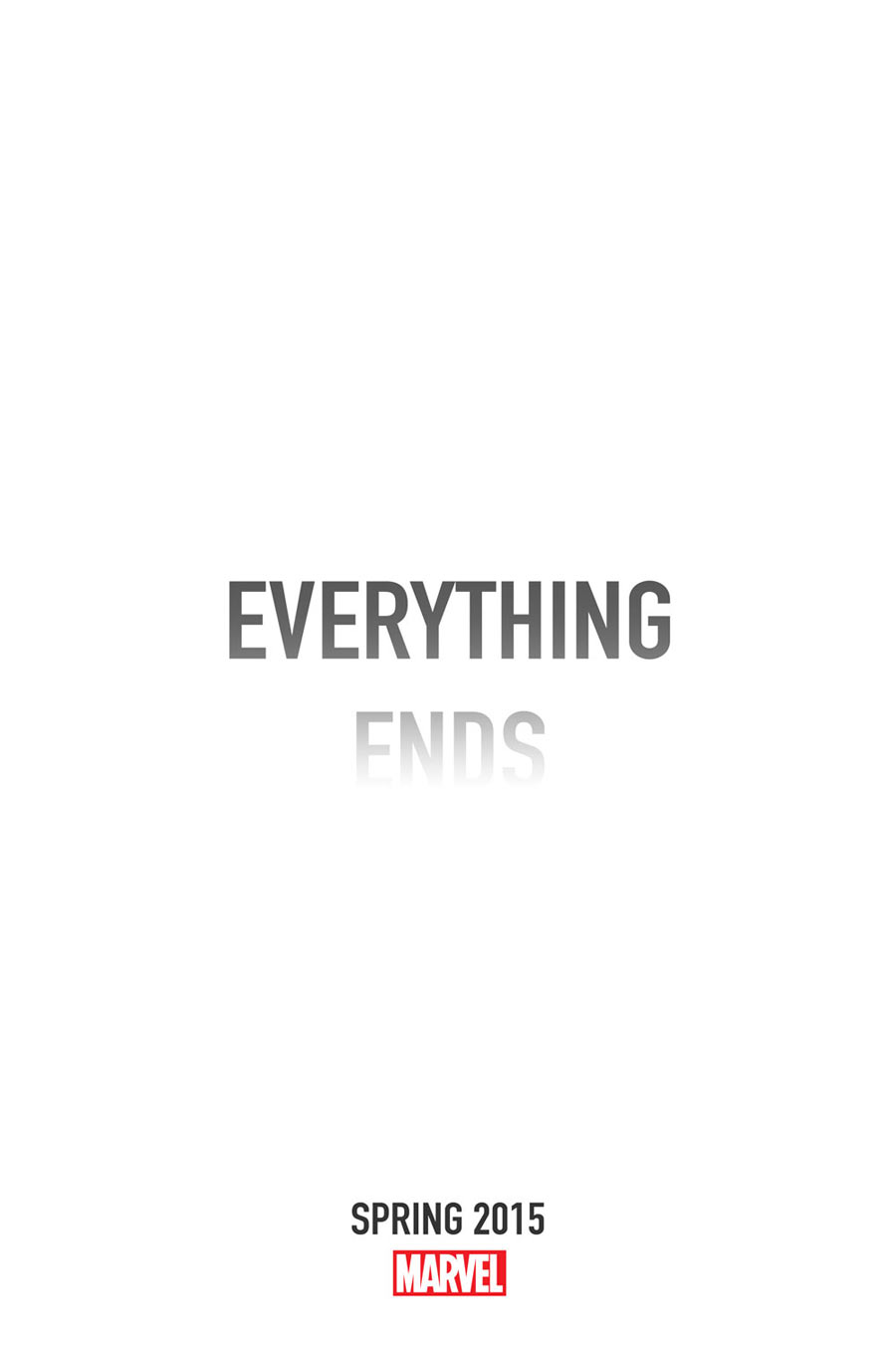 Everything Ends Marvel Comics
