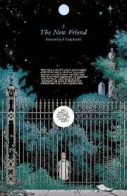 Páginas ilustradas por P. Craig Russell para El Libro del Cementerio