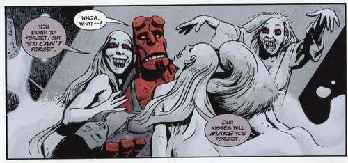 Los vampiros también harán su aparición en esta historia.