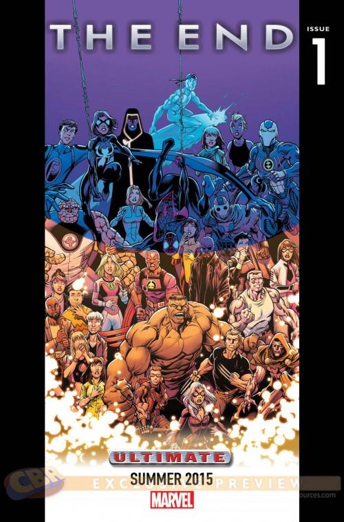 Marvel teaser 10 The End Ultimate