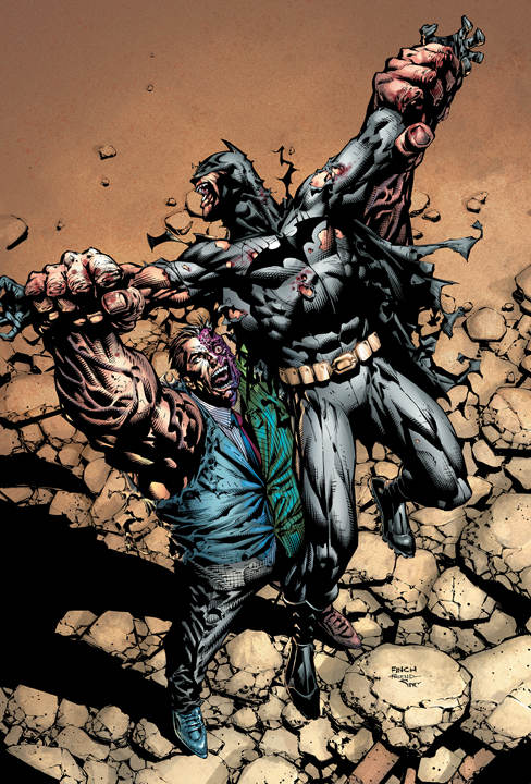 Paul Jenkins Dark Knight Batman