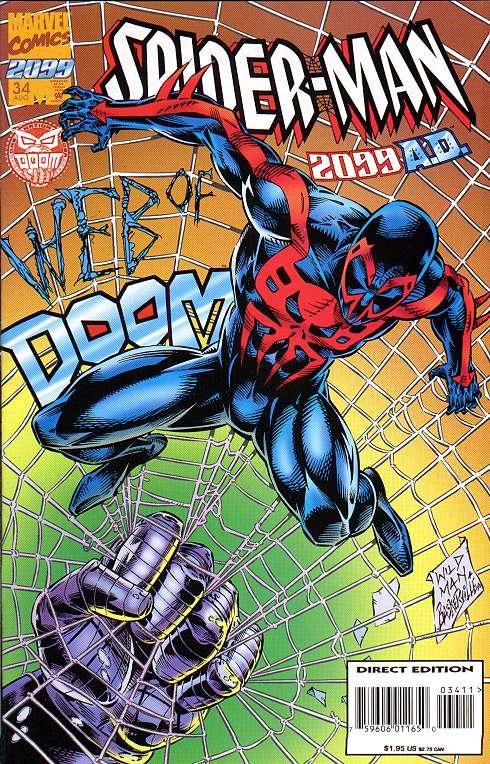 Spiderman 2099 Andrew Wildman