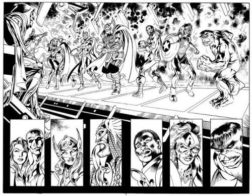 Ultron Forever Pagina Alan Davis
