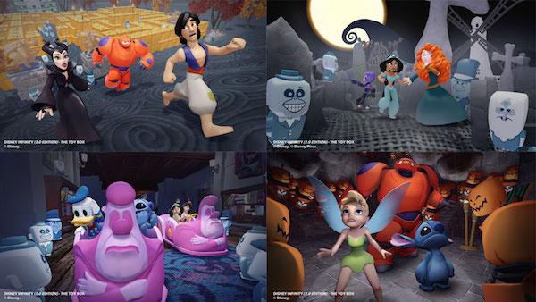 Imaginando Halloween en Disney Infinity 2.0 / Disney /   A mi hija le encanta y a mi también.