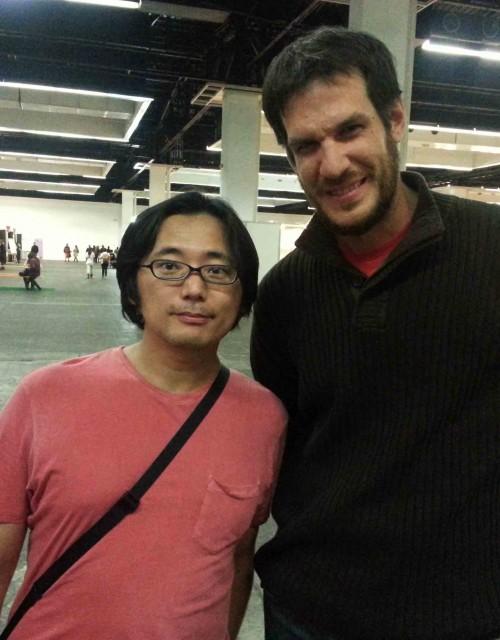 Kengo Hanazawa, minutos antes de conocer a Takehiko Inoue.