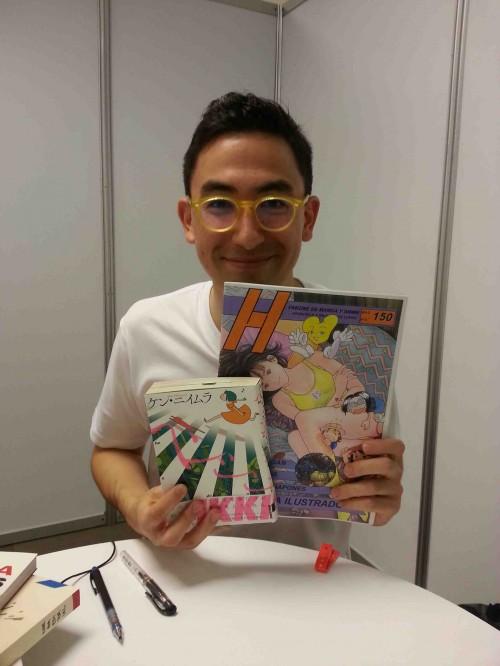 La carrera de Ken Niimura resumida en una imagen.