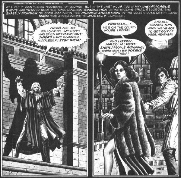 Gulacy refleja perfectamente los ambientes góticos que precisa el relato