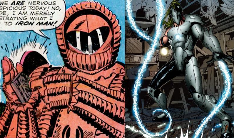 Los dos Anton Vanko de los cómics.