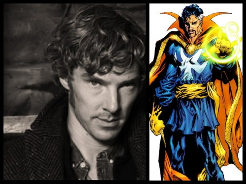 Cumberbatch ya es Stephen Strange