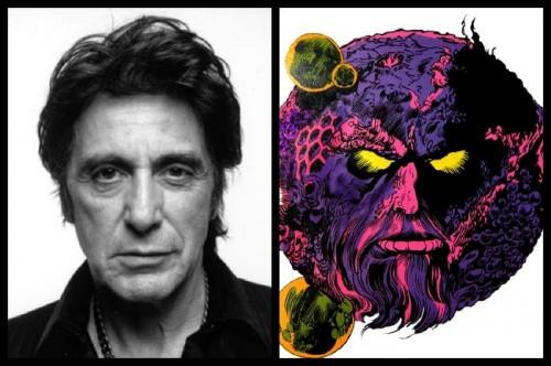 ¿Podría ser Ego, el Planeta Viviente interpretado por Al Pacino?