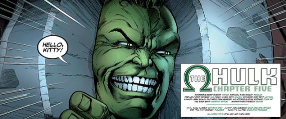 Hulk Hello Kitty Mark Bagley