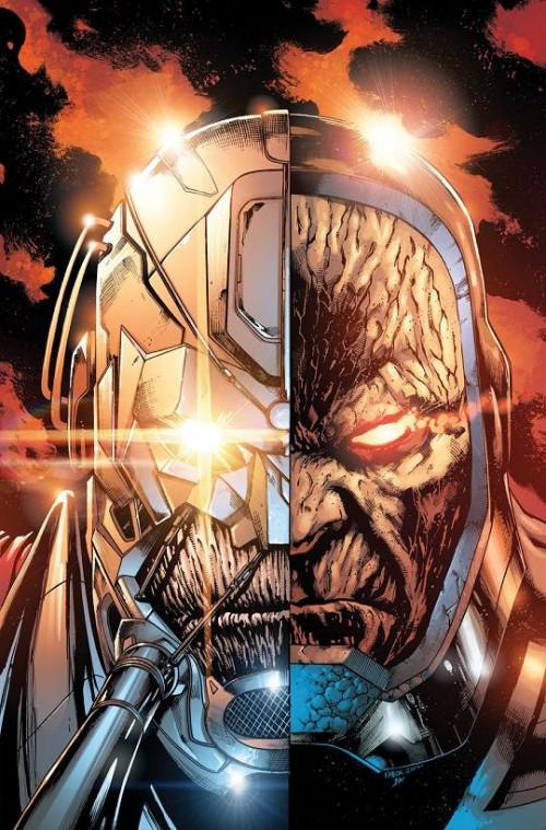 Portada del Justice League #40 por Jason Fabok