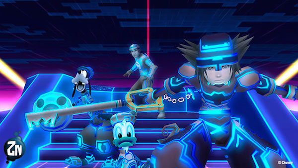 Tron en Kingdom Hearts 2.5 HD Remix / PETARLO