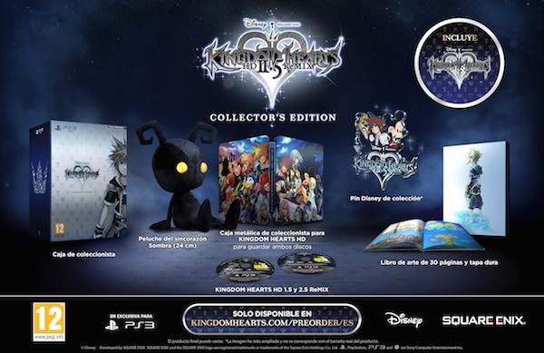 Todo lo que incluye la Edición Coleccionista de Kingdom Hearts 2.5 HD Remix
