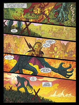 Scott Kolins nos dibuja el origen de los Durlan.