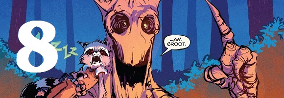 Rocket Raccoon Skottie Young