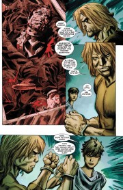Páginas interiores de Secret Six #1, obra de Ken Lashley