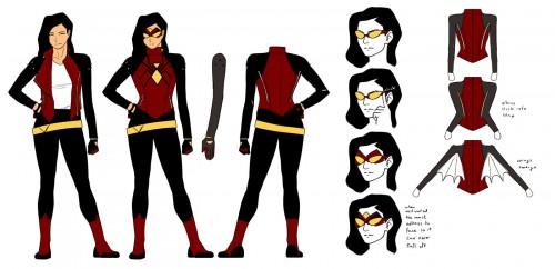 Spiderwoman Uniforme Nuevo Kris Anka