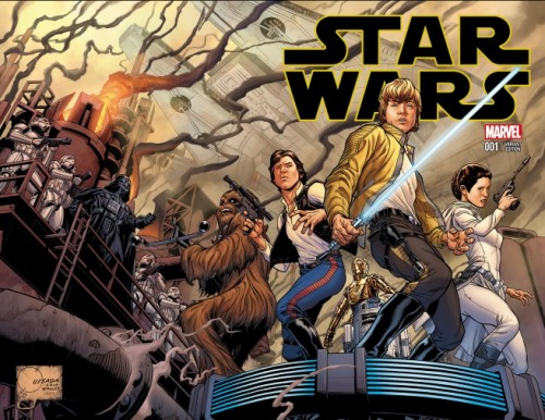 Star Wars Joe Quesada Portada