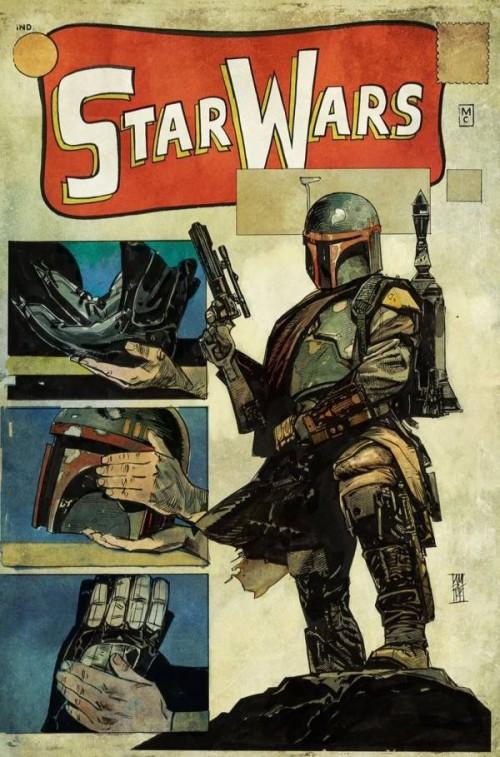 Star Wars portada Alex Maleev