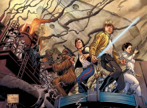 Star Wars portada Joe Quesada