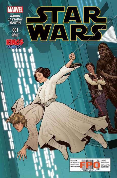 Star Wars portada Joe Quinones