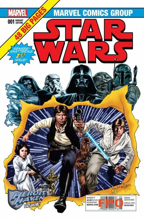Star Wars portada Mike Perkins
