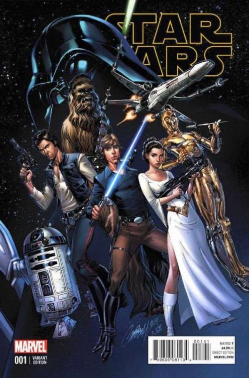 Star Wars portada Scott Campbell