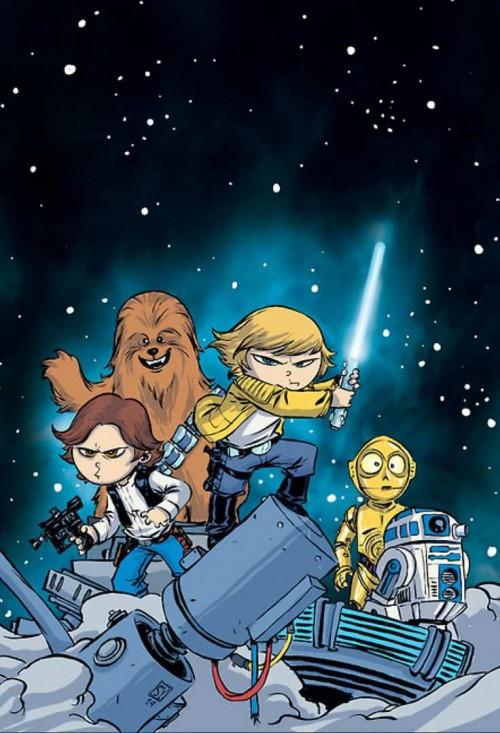 Star Wars portada Skottie Young