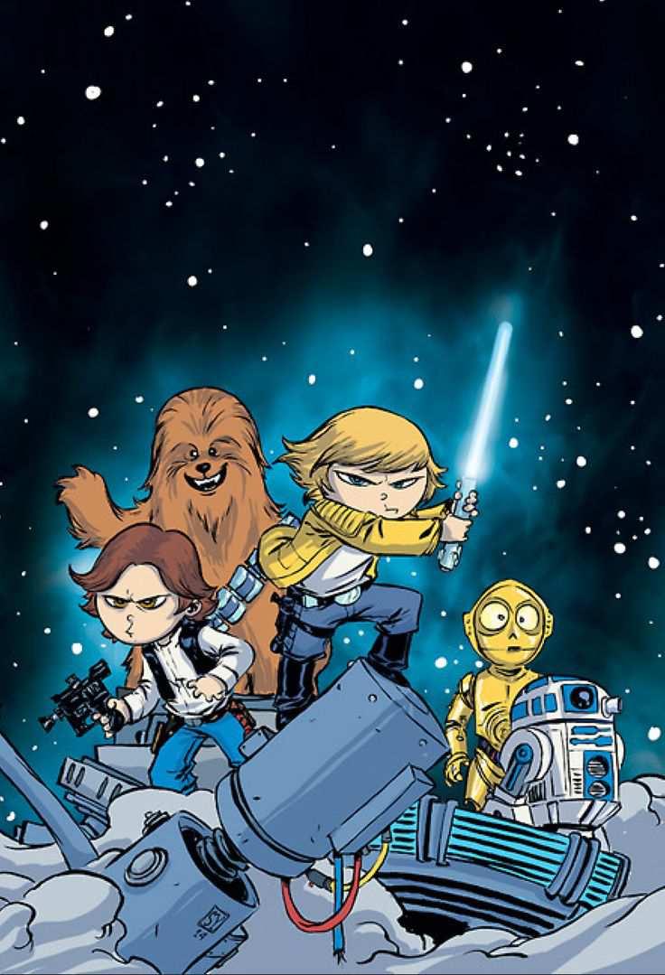 Algunas De Las Portadas De Star Wars 1 La Nueva Serie De