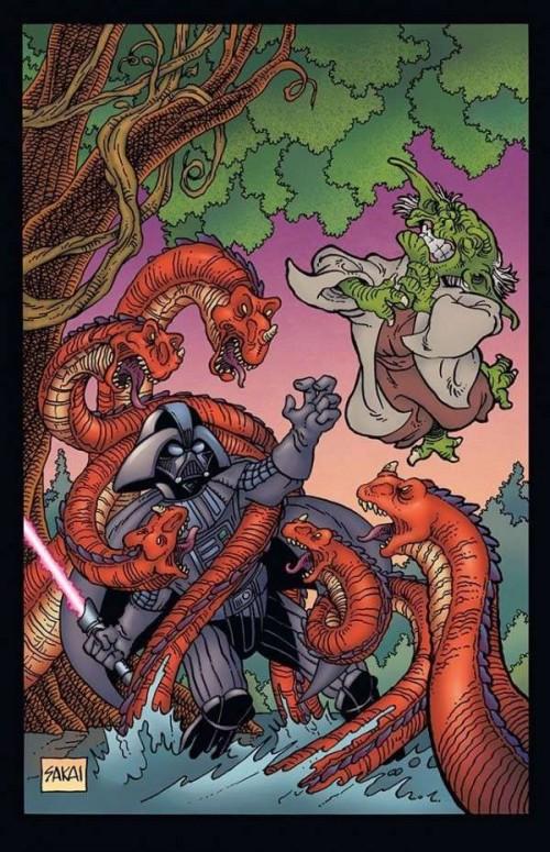 Star Wars portada Stan Sakai