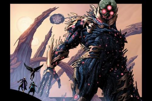 Primera aparición del nuevo Brainiac en Futures End #23