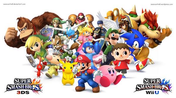 Super Smash Bros / Ganador mejor juego de lucha en los Game Awards 2014 / Nintendo