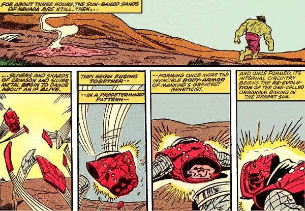 Alto evolucionador con Hulk