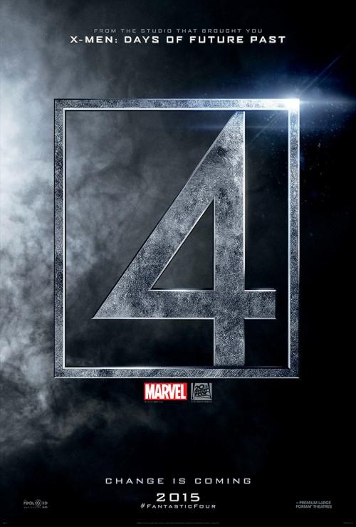 Poster de los Cuatro Fantásticos