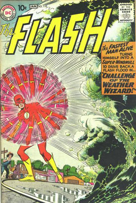 LLega Kid Flash y ni sale en la portada.