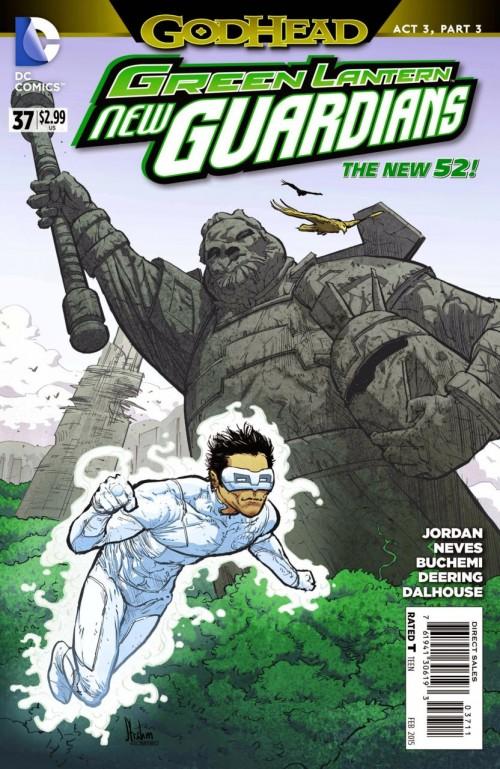 Green Lantern New guardians # 37